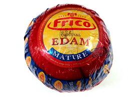 エダム 1.6kg(不定貫)【セミハードタイプチーズ/オランダ】