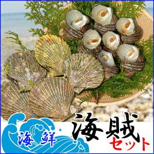 海賊セット 天然活きサザエ1kg+活きヒオウギ貝10枚 大分県産 さざえ 蠑螺 栄螺 緋扇貝 ひおうぎ貝 送料無料