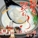 【送料無料】温泉湯どうふ「豆乳うどん鍋セット」4人前 (Bセット:湯豆腐/豆乳うどん)【楽ギフ_のし宛書】