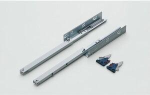 スガツネ ランプ LAMP スライドレール 3400 セルフ&ソフトクロージング機構付 底付けタイプ 3400-300 耐荷重34kg/1セット