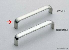 【スガツネ】 ランプ印 ステンレス鋼製ハンドル DL型 【DL-110S】 【110mm】 【サテン】