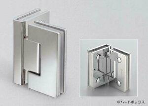 【スガツネ】 BESTKO ステンレス鋼製ガラスドア用自由丁番 BK926-90型 【BK926-90SM】 【90mm】 【鏡面研磨ガラス取付タイプ】