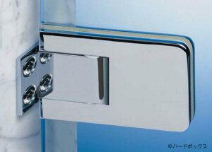 【スガツネ】 DORMA ガラス固定金具壁付 【D08-120-501】 【60mm】 【クロムシングルサイド】