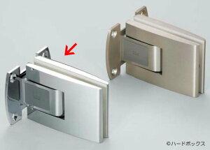 【スガツネ】 DORMA ガラスドア用自由丁番 D12-520型 【D12-520-122】 【82mm】 【クロム壁取付タイプ】