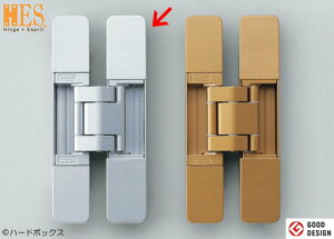 【スガツネ】 ランプ印 三次元調整機能付隠し丁番 HES3D-160型 【HES3D-160SL】 【160mm】 【シルバー】
