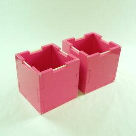【送料無料/あす楽/ギフト対応】【収納ボックス/本棚/CD/DVDラック/玩具箱】パズル感覚で自分好みの大きさ・形の収納家具が作れる組立式収納ボックス『パズボックス Cube2』