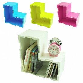 【送料無料/あす楽/ギフト対応】【収納ボックス/本棚/CD/DVDラック/玩具箱】パズル感覚で自分好みの大きさ・形の収納家具が作れる組立式収納ボックス『パズボックス Cube4』