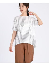 [Rakuten Fashion]【SALE/30%OFF】オーバーシルエットカットソー 7-IDconcept. セブンアイディコンセプト カットソー Tシャツ レッド【RBA_E】【送料無料】