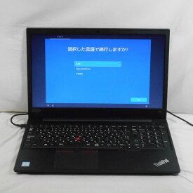 【中古】中古パソコン ノートパソコン Lenovo ThinkPad E590 20NC-S05B00 Corei3 8145U 2.1GHz メモリ4GB HDD500GB 15インチ Win10Home【1年保証】【E】【TG】【ヤマダ ホールディングスグループ】