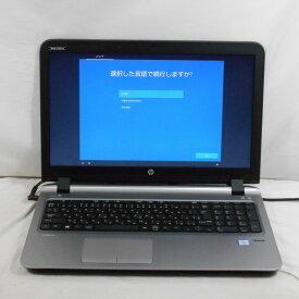 【特価品】【中古】中古パソコン ノートパソコン HP ProBook 450 G3 V9C83AV Corei3 6100U 2.3GHz メモリ4GB HDD500GB DVDRW/CDRW 15インチ Win10Home【1年保証】【E】【TG】【ヤマダ ホールディングスグループ】