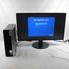 【オータムセール】【中古】中古パソコン デスクトップパソコン HP ProDesk 600 G5 6DX60AV/24インチLCDモニター Corei7 9700 3GHz メモリ8GB SSD512GB DVDRW 24インチ Win10Home【1年保証】【E】【TG】【ヤマダ ホールディングスグループ】