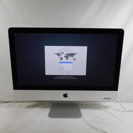 【10%OFFクーポン 9/18開始】【オータムセール】【中古】中古パソコン 一体型パソコン Apple iMac A1418 Corei5 4570R 2.7GHz メモリ8GB HDD1TB 21インチ Mac OS 10.15【1年保証】【TG】【ヤマダ ホールディングスグループ】