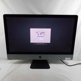 【10%OFFクーポン 9/18開始】【中古】【オータムセール】中古パソコン 一体型パソコン Apple iMacPro A1862 Xeon W 2140B 3.2GHz メモリ64GB SSD2048GB 27インチ Mac OS 10.13.6【1年保証】【TG】【ヤマダ ホールディングスグループ】