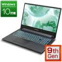 ゲーミングPC 新品 ゲーミング ノートパソコン フロンティア [15.6ワイドフルHD非光沢IPS液晶 Windows10 Core i7-9750…