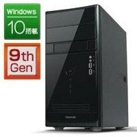 フロンティア デスクトップ ゲーミングパソコン [Windows10 i7-9700 メモリ16GB SSD240GB HDD1TB GeForce GTX1660] FRMXH310/B FRONTIER【新品】【FR】