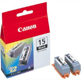 【箱なし特価品・ネコポス便発送】CANON純正インク BCI-15 ブラック(2個入)