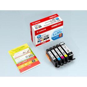 CANON純正インク BCI-371XL+370XL/5MPV 5本セット大容量+L判用紙30枚