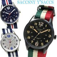 サクスニーイザックSACCSNYY'SACCS10気圧防水ユニセックス男女兼用メンズレディース腕時計ペアラウンド円形カジュアルプレゼントギフトに最適ウォッチピンクゴールドおしゃれかわいいビジネスフォーマル女性用腕時計クリスタルきれい