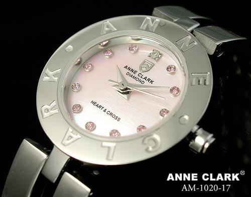 腕時計 レディース 【送料無料】【AnneClark/アンクラーク】レディース腕時計【天然ダイヤ】AM-1020-17 かわいい 女性らしさ 愛され ビジネス 円 ブランド ブランド ウォッチ 母の日