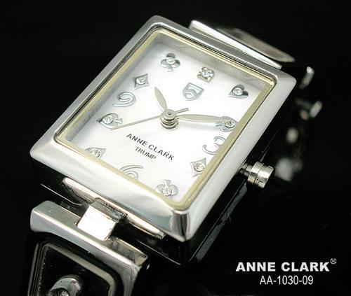 腕時計 レディース 【送料無料】 ベルト調整、工具なしで出来ます。【AnneClark/アンクラーク】レディース腕時計【TRUMPS】aa1030-09(ホワイト) 女性らしさ 愛され ビジネス 円 おしゃれ 本命 カジュアル ウォッチ
