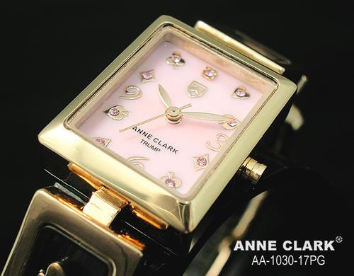 腕時計 レディース 【送料無料】【AnneClark/アンクラーク】ベルト調整工具なしで出来ます。レディース腕時計【TRUMPS】aa1030-17pg(ピンク×ピンクゴールド)[女性らしさ][愛され][ビジネス][円][おしゃれ][本命][カジュアル][ウォッチ]