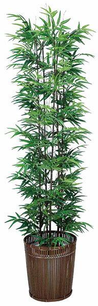 光触媒 黒竹 180cm 個別送料 バンブー 和風 観葉植物 造花 リビング 人工観葉植物 消臭・抗菌 【RCP】