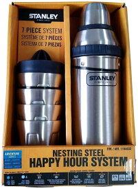 STANLEY スタンレー ハッピーアワーシステム ステンレス製 シェーカー&カップ 7点セット【並行輸入品】