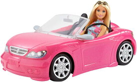 バービー バービーとおでかけ! かわいいピンクのクルマ 【着せ替え人形・ハウス 3才~】 FPR57 Barbie