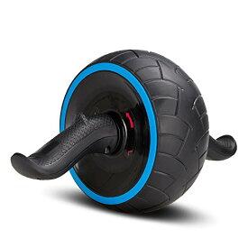 COVVY 腹筋ローラー エクササイズローラー アブホイール リバウンド機能 自動回弾 腹筋器具 腹筋トレ 超静音 多角度回転 安定 滑り止