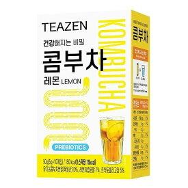 BTSジョングクおすすめ!【国内発送】 TEAZEN【ティーゼン】 コンブチャ レモン Kombucha Lemon 5g×10本