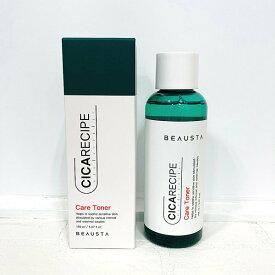韓国コスメスキンケア BEAUSTA(ビュースタ) シカレシピ トナー 150ml CICARECIPE CARE TONER 化粧水