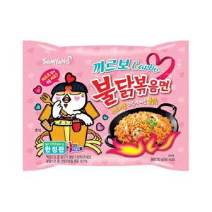 【三養】カルボブルタック炒め麺  #韓国 #激辛 #SNS #YOUTUBE #辛い #インスタント #焼きそば #プルタク #カルボナーラ #ブルダック