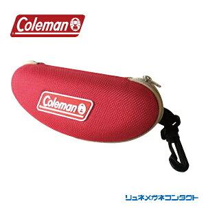 【送料無料】サングラスケース Coleman コールマン アウトドア COLEMAN CASE CO-07 赤(RED)