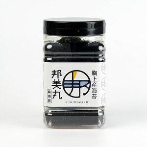 【邦美丸】最高級 岡山胸上産 ギフト邦美丸の塩海苔[8切80枚全形10枚分] ペットボトル