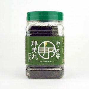 【邦美丸】最高級 岡山胸上産 ギフト邦美丸のわさび海苔[8切80枚全形10枚分] ペットボトル