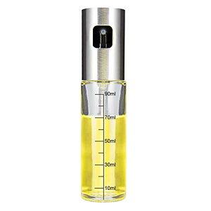 オイルスプレー 料理用 100ml iTrunk 油 スプレー ボトル 霧吹き olive oil spray オリーブオイル ミスト 透明ガラス 油/醤油/調味料