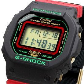腕時計 ウォッチ 時計 あす楽 CASIO カシオ G-SHOCK 海外モデル Throwback 1990s クリスマスカラー メンズ DW-5600THC-1 [並行輸入品]