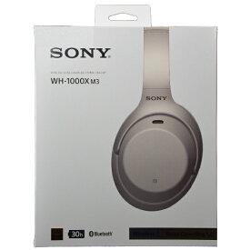 ソニー SONY HEADPHONE WH-1000XM3SM WIRELESS NOISE CANCELING ワイヤレスノイズキャンセリングステレオヘッドセット【PLATINUM SILVER】《海外仕様》