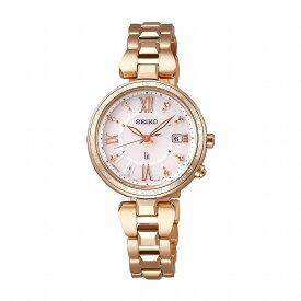 セイコー ルキア SEIKO LUKIA 腕時計 ウォッチ レディース ソーラー電波 ワールドタイム Lady Gold SSQV058