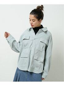 [Rakuten Fashion]【SALE/26%OFF】4つポケBIGシャツ DOUBLE NAME レイカズン シャツ/ブラウス 長袖シャツ グリーン ピンク ホワイト ブラック【RBA_E】【送料無料】