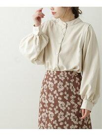 【SALE/59%OFF】ミクロコールバンドカラーシャツチュニック Ray Cassin レイカズン シャツ/ブラウス 長袖シャツ ホワイト ブラック パープル【RBA_E】[Rakuten Fashion]