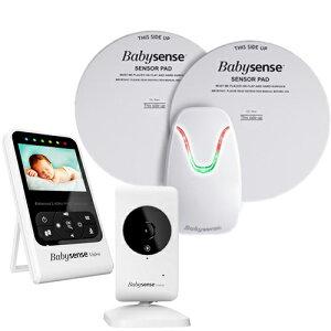 保証なし価格! hisense社 Babysense 7 Video + Movement Monitor Babysense7 ベビーセンス7 (最新版)ベビーセンス 7 ベビーモニター + カメラ付き セット 乳幼児 感知センサー 乳幼児 ワイヤレス 呼吸モ