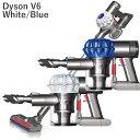 Dyson V6 Origin Cordless Vacuum (Certified Refurbished) ダイソン v6 オリジン リファービッシュ コードレスクリーナー ホワイト/ブルー(DC