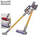 ダイソン v8 アブソリュート コードレス 掃除機Dyson V8 Absolute cordless vacuum cleaner 米国正規品 並行輸入品 米国V8シリーズ最上級モデル コードレス掃