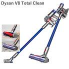ダイソンv8トータルクリーン+コードレス掃除機DysonV8TotalClean+cordlessvacuumcleanerすべての清掃をこの1台にお任せ!米国正規品並行輸入品米国V8シリーズ最上級モデルトータルクリーンプラスabsolute+よりお得♪