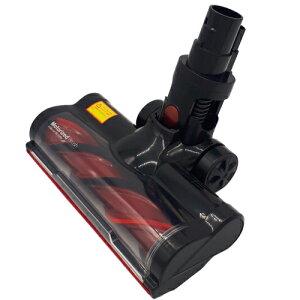 ≪MooSoo 純正≫ 回転ブラシ付きヘッド モーターヘッド K17専用 17000Pa専用 LEDライト付きモーター式ヘッド 交換部品 交換用ヘッド 送料無料