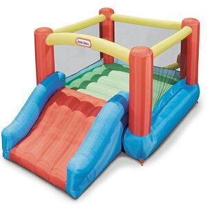 リトルタイクス ジャンプスライドバウンサー Jr Little Tikes Jr Jump 'n Slide Bouncer屋外用 室内用 トランポリン子供用トランポリン 幼児〜 エアートランポリン おもちゃ 玩具 滑り台 すべり台ジャ