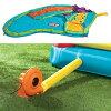 比從屬于供供ritorutaikusupurusuraidobaunsa Little Tikes Slam'n Curve Slide室外事情室內使用的小孩使用的遊泳池大型遊泳池籃球球門的幼兒~空氣遊泳池滑梯滑板玩具、玩具落基山山河比賽合算♪
