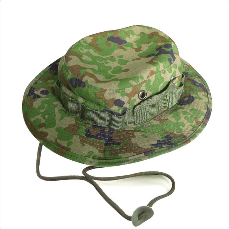 【ブッシュハット】陸上自衛隊 自衛隊 迷彩 戦人 Senjin ミリタリー アーミー タクティカル サバゲー アウトドア 帽子 無線機アタッチ