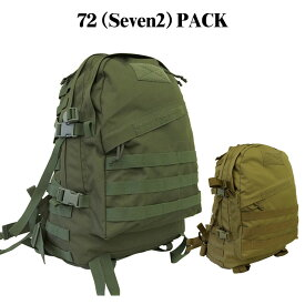 72(Seven2)PACK(陸上自衛隊 自衛隊 戦人 Senjin ミリタリー アーミー タクティカル サバゲー アウトドア メンズ レディース バッグ バック バックパック リュック MOLLEシステム モールシステム)